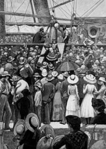 220px-StateLibQld_1_110096_Drawing_of_migrants_disembarking_from_a_ship,_ca._1885