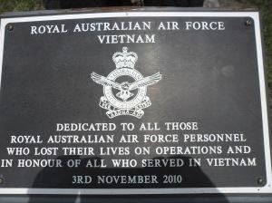 Pamätná tabuľa obetiam vojny vo Vietname