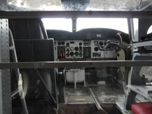 cocpit bojového lietadla