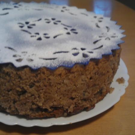 babánový koláč